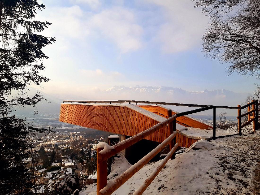 Aussichtsplattform Walderlebnispfad Liechtenstein