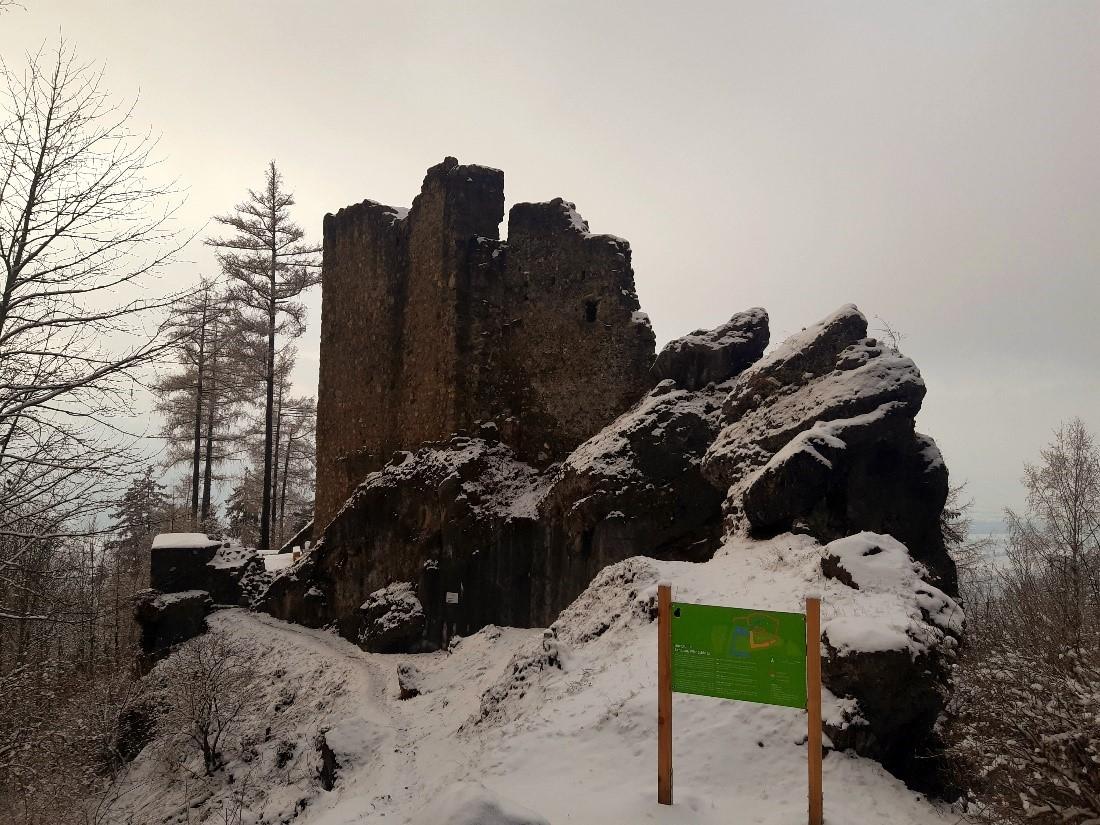 Ruine Schalun Liechtenstein Weg